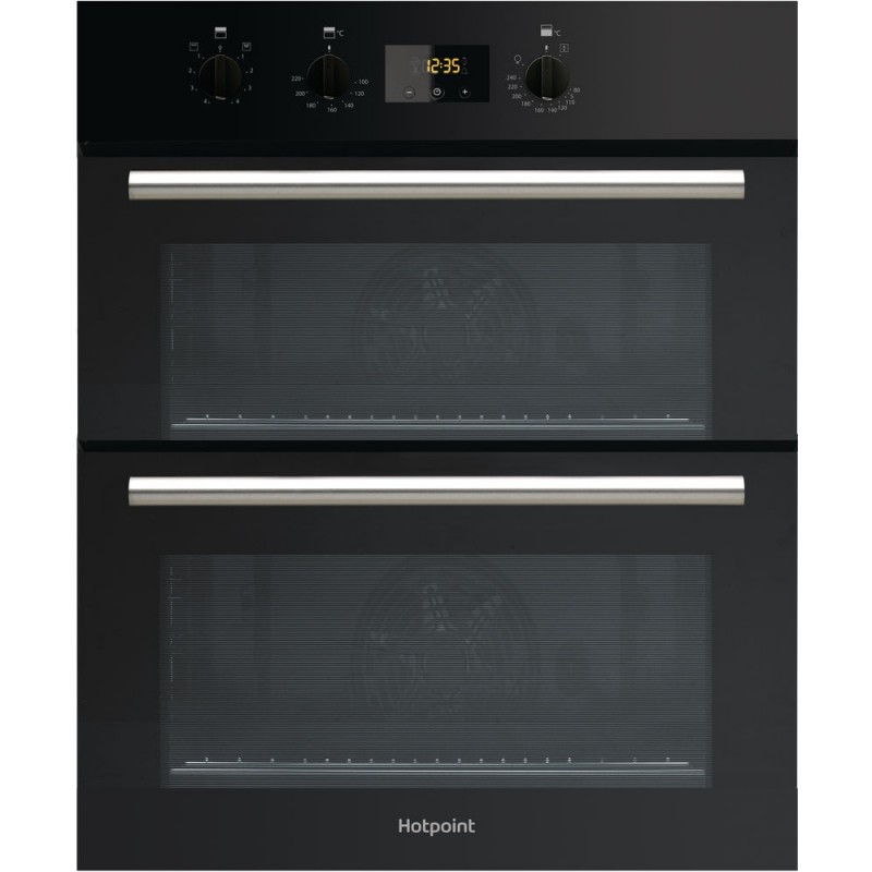 hotpoint du2540bl built under double oven preslec. Black Bedroom Furniture Sets. Home Design Ideas