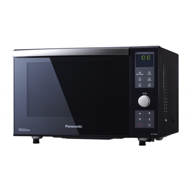 Panasonic Nn Ds596bqpq Combination Steam Microwave Oven 1000w: Panasonic NN-DF386B 1000w Flat Bed Combination Oven