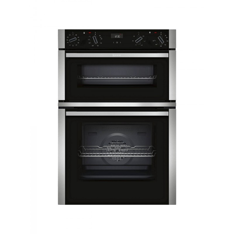 neff u1ace2hn0b built in electric double oven grill. Black Bedroom Furniture Sets. Home Design Ideas