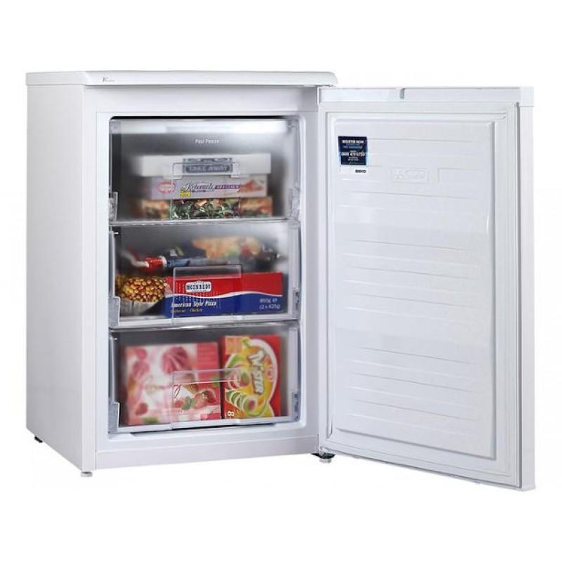 Beko Uff584apw 55cm Under Counter Freezer Frost Free