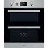 Indesit IDU6340IX Electric Built Under Double Oven Stainless