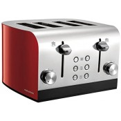 Morphy Richards 241002 4 Slice Toaster Red