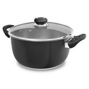 Morphy Richards 46550 Black Casserole Dish