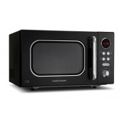 Morphy Richards 511510 800w Black Microwave