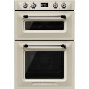 Smeg DOSF6920P1 Electric Victoria Double Oven Cream