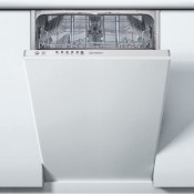 Indesit DSIE2B10UKN 45cm Slimline Integrated Dishwasher