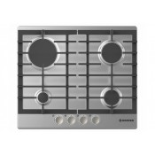 Hoover HGH64SCEX 4 Burner Gas Hob Stainless Steel
