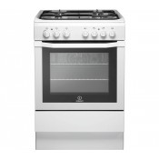 Indesit I6GG1W 60cm Single Oven Gas Cooker White