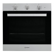 Indesit IFW6330IX Single Built In Fan Oven Stainless