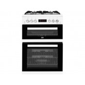 Beko KDG653W 60cm Double Oven Gas Cooker White