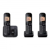 Panasonic KX-TGC223 Cordless Trio Pack With Answerphone
