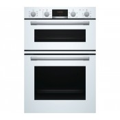 Bosch MBS533BW0B Built In Double Oven White