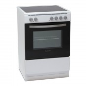 Montpellier MSC60FW 60cm Single Cavity Electric Cooker White