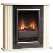 Dimplex MZT20E Mozart Electric Fire Suite Cream
