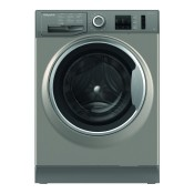 Hotpoint NM10844GS 8kg 1400 Spin Washing Machine Graphite