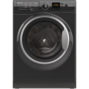 Hotpoint NSWM1043CBS 10kg 1400 Spin Washing Machine Black