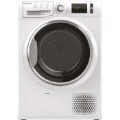 Hotpoint NTM1192XBUK 9kg Heat Pump Dryer White
