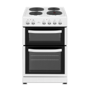 Newworld NWMID54DEW 50cm Electric Double Oven Cooker White