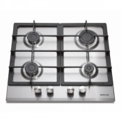 Servis SCG4X 4 Burner Gas Hob Stainless