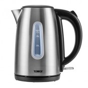 Tower T10015 3kw Cordless Jug Kettle Stainless Steel