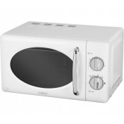Tower T24017 800w Microwave White & Stainless Interior