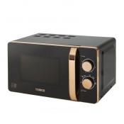 Tower T24020 800w Microwave Black & Gold