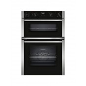 Neff U1ACE2HN0B Built In Electric Double Oven & Grill Stainless Steel