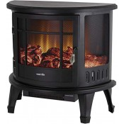 Warmlite WL46017 1800w Log Effect Electric Fire